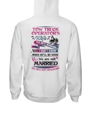 Awesome Tow Truck Operator's Wife Shirt Hooded Sweatshirt thumbnail