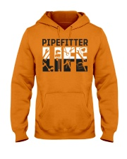 Awesome Pipefitter Shirt Hooded Sweatshirt front