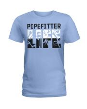 Awesome Pipefitter Shirt Ladies T-Shirt thumbnail