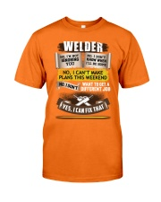Awesome Welder Shirt Classic T-Shirt thumbnail