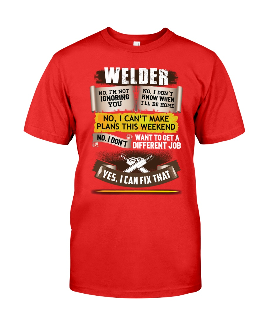 Awesome Welder Shirt Premium Fit Mens Tee