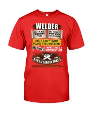Awesome Welder Shirt Premium Fit Mens Tee front