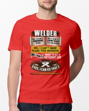 Awesome Welder Shirt Premium Fit Mens Tee lifestyle-mens-crewneck-front-13