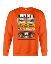 Awesome Welder Shirt Crewneck Sweatshirt thumbnail