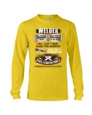 Awesome Welder Shirt Long Sleeve Tee thumbnail