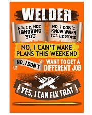 Awesome Welder Shirt 16x24 Poster thumbnail