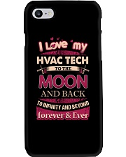 I love my HVAC Tech to the Moon Phone Case thumbnail