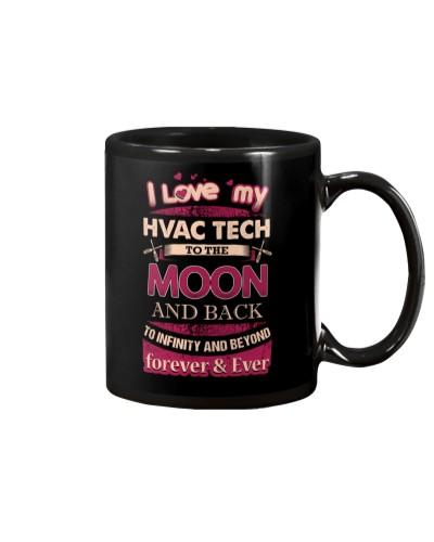 I love my HVAC Tech to the Moon