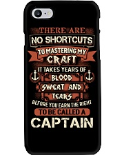Earn the right to be a Captain shirt Phone Case thumbnail