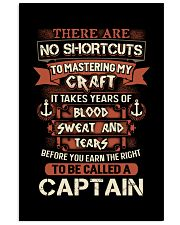 Earn the right to be a Captain shirt 16x24 Poster thumbnail