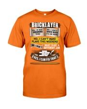 Awesome Bricklayer Shirt Classic T-Shirt thumbnail