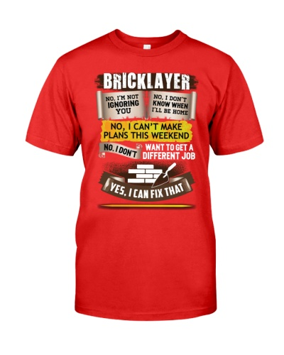 Awesome Bricklayer Shirt