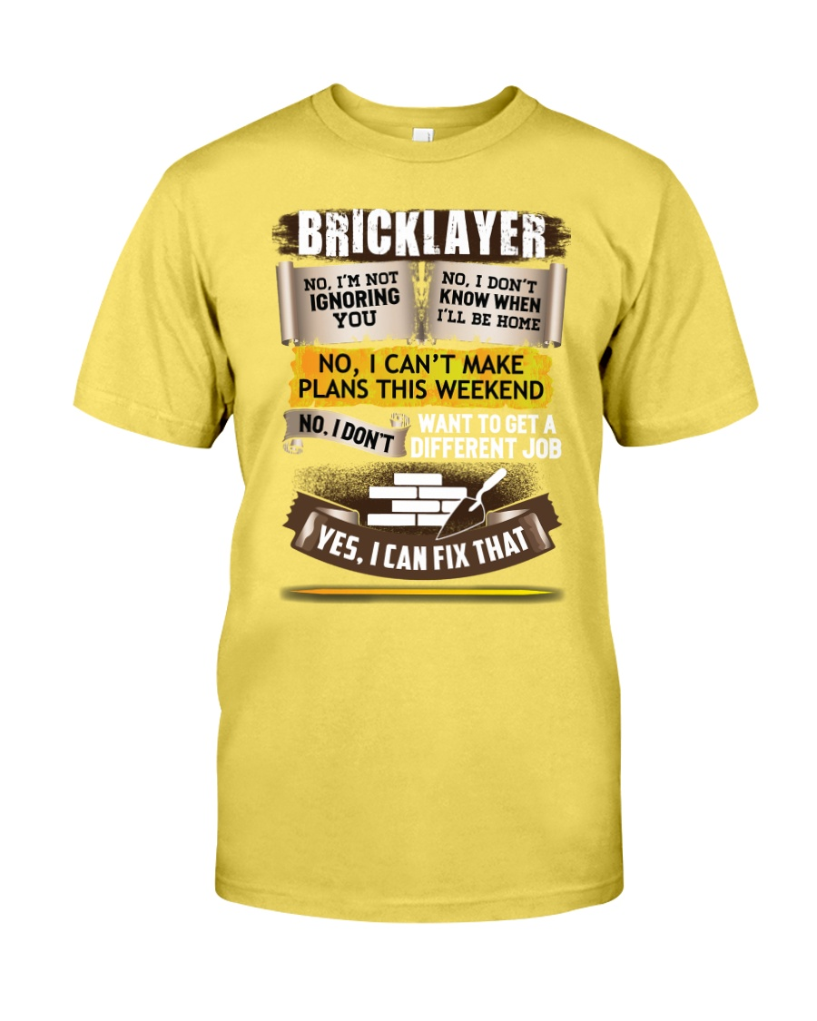 Awesome Bricklayer Shirt Premium Fit Mens Tee