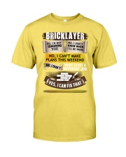 Awesome Bricklayer Shirt Premium Fit Mens Tee front