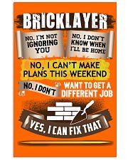 Awesome Bricklayer Shirt 16x24 Poster thumbnail