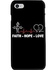 FAITH-HOPE-LOVE-MASSAGE THERAPIST Phone Case thumbnail