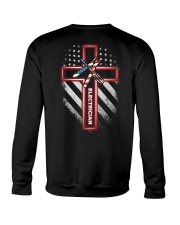 Proud Electrician Shirt Crewneck Sweatshirt thumbnail