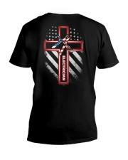 Proud Electrician Shirt V-Neck T-Shirt thumbnail