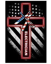 Proud Electrician Shirt 16x24 Poster thumbnail