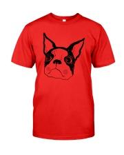 Cool Boston Terrier Face Shirt Classic T-Shirt thumbnail
