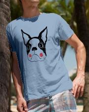 Cool Boston Terrier Face Shirt Premium Fit Mens Tee lifestyle-mens-crewneck-front-10