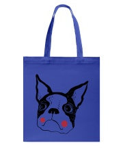 Cool Boston Terrier Face Shirt Tote Bag tile