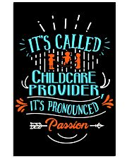 Proud Childcare Provider Shirt 16x24 Poster thumbnail
