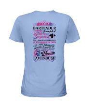 Awesome Bartender Shirt Ladies T-Shirt back