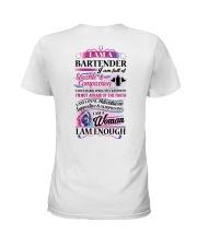 Awesome Bartender Shirt Ladies T-Shirt thumbnail