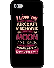 I love my Aircraft Mechanic to the Moon Phone Case thumbnail