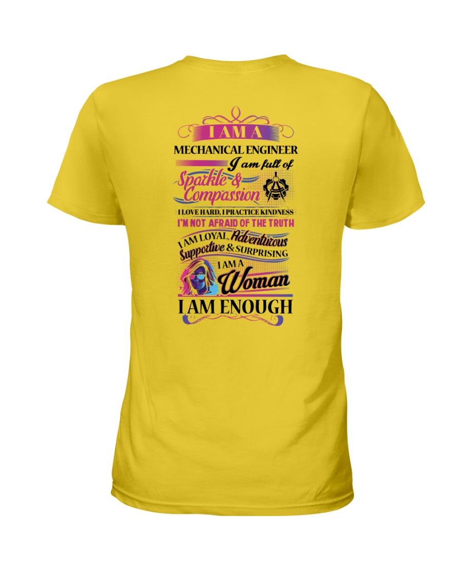 Awesome Mechanical Engineer Shirt Ladies T-Shirt