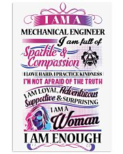 Awesome Mechanical Engineer Shirt 16x24 Poster thumbnail