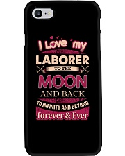 I love my Laborer to the Moon Phone Case tile