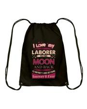 I love my Laborer to the Moon Drawstring Bag thumbnail