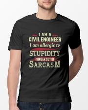 Sarcastic Civil Engineer Shirt Premium Fit Mens Tee lifestyle-mens-crewneck-front-13