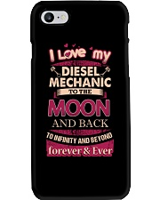 I love my Diesel Mechanic to the Moon Phone Case thumbnail