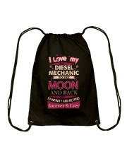 I love my Diesel Mechanic to the Moon Drawstring Bag thumbnail