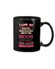 I love my Diesel Mechanic to the Moon Mug tile