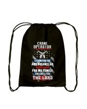 Proud Crane Operator Shirt Drawstring Bag thumbnail