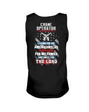 Proud Crane Operator Shirt Unisex Tank thumbnail