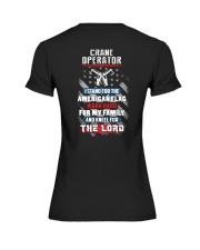 Proud Crane Operator Shirt Premium Fit Ladies Tee thumbnail