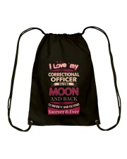 I love my Correctional Officer to the Moon Drawstring Bag tile