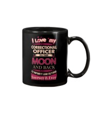I love my Correctional Officer to the Moon Mug tile