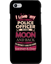 I love my Police Officer to the Moon Phone Case thumbnail