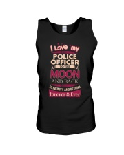 I love my Police Officer to the Moon Unisex Tank thumbnail