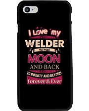 I love my Welder to the Moon Phone Case thumbnail