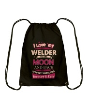 I love my Welder to the Moon Drawstring Bag thumbnail