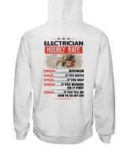 Sarcastic Electrician Shirt Hooded Sweatshirt thumbnail