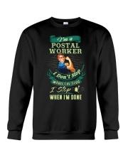 Determined Postal Worker Shirt Crewneck Sweatshirt thumbnail