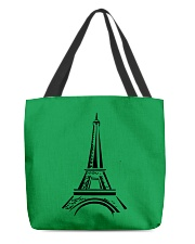 france paris eiffel tower  All-over Tote front